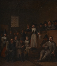 A Quaker meeting